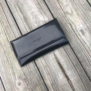Kate Spade Patent Black Fold Wallet